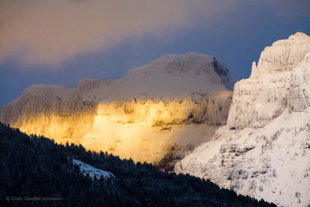 Amphitheater Mountain Sunset
