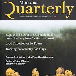 Cover: Montana Quarterly Fall 2010