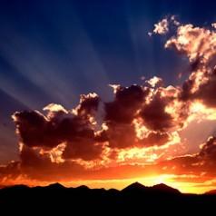 Crazy Mountains Sunset